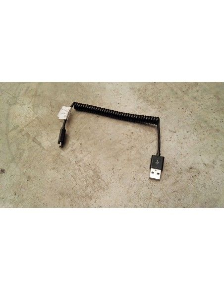 Helical Cable USB to Micro USB