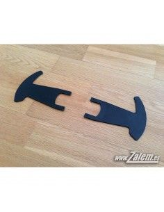 Custom 350mm Aluminum Shifter Paddles for Logitech G25 & G27