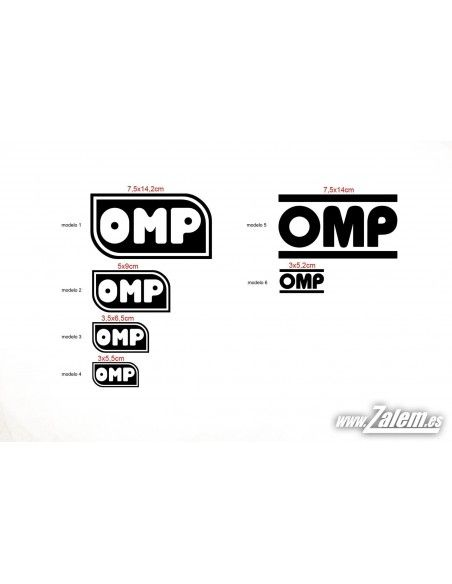 Decals / Stickers OMP
