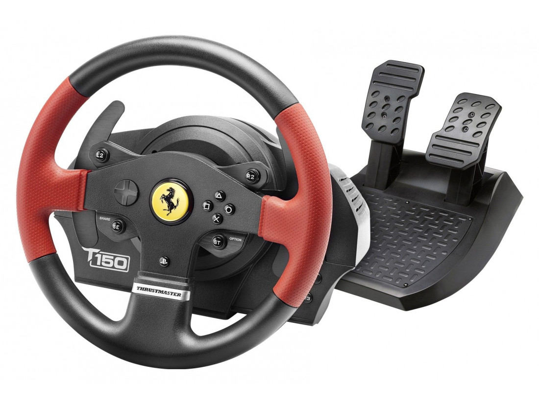 thrustmaster t300 rs ferrari gte zalem simuladores. Black Bedroom Furniture Sets. Home Design Ideas